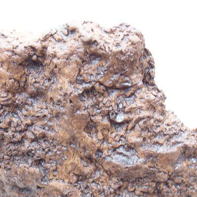 Ceramiczna skorupa 16 x 13 x 8 cm, kolor szary - 2
