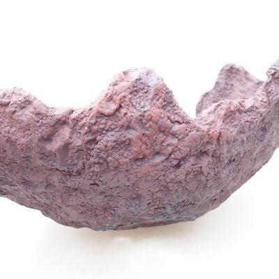 Ceramiczna skorupa 21 x 16 x 13 cm, kolor szary - 2