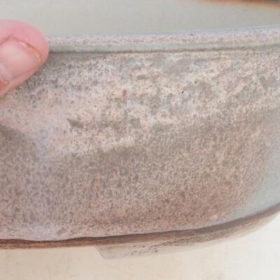 Miska Bonsai 34 x 26 x 9,5 cm, kolor szaro-beżowy - 2