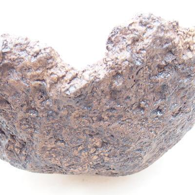 Ceramiczna skorupa 17 x 15 x 13 cm, kolor szary - 2