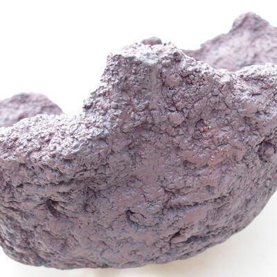 Ceramiczna skorupa 21 x 20 x 16 cm, kolor szary - 2