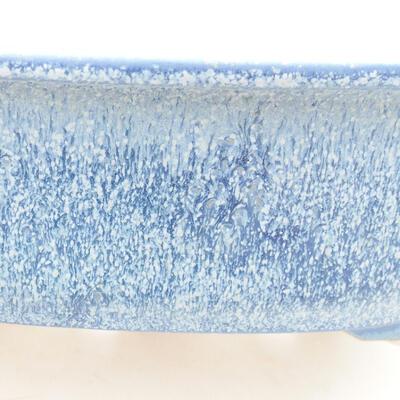 Ceramiczna miska bonsai 23 x 20 x 7 cm, kolor niebieski - 2