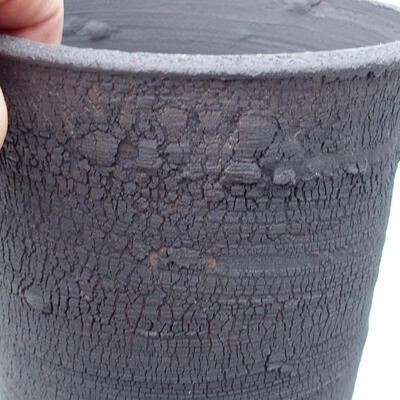Ceramiczna miska bonsai 13,5 x 13,5 x 15 cm, kolor spękany - 2