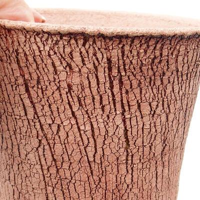 Ceramiczna miska bonsai 12 x 12 x 14 cm, kolor spękany - 2