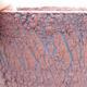 Ceramiczna miska bonsai 14,5 x 14,5 x 17 cm, kolor spękany - 2/3