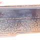 Ceramiczna miska bonsai 20 x 14,5 x 7 cm, kolor czarno-brązowy - 2/3