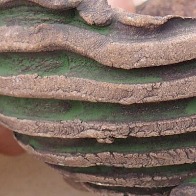 Powłoka ceramiczna 7 x 7,5 x 5 cm, kolor szarozielony - 2