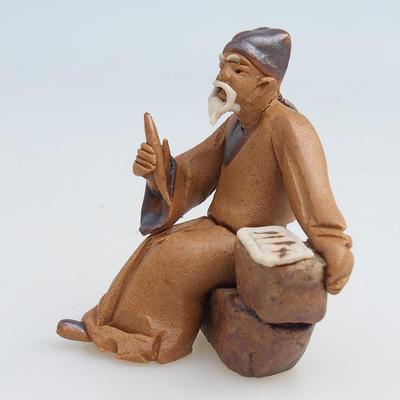 Figurka ceramiczna - szałwia - 2