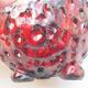 Ceramiczna skorupa 7 x 7 x 5 cm, kolor czerwony - 2/3