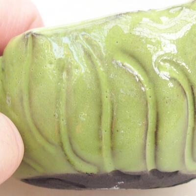 Ceramiczna powłoka 7 x 7 x 5 cm, kolor zielony - 2