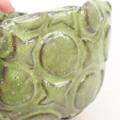 Ceramiczna powłoka 8 x 7 x 5,5 cm, kolor zielony - 2