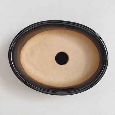 Miska Bonsai, taca H04 - miska 10 x 7,5 x 3,5 cm, taca 10 x 7,5 x 1 cm - 2
