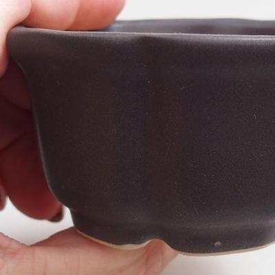Miska Bonsai + taca H95 - miska 7 x 7 x 4,5 cm, taca 7 x 7 x 1 cm - 2