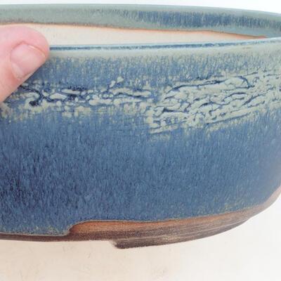 Miska Bonsai 31 x 24 x 10 cm, kolor niebieski - 2