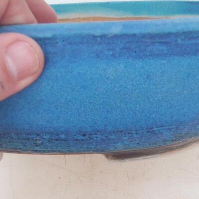 Miska Bonsai 22 x 17 x 7 cm, kolor niebieski - 2