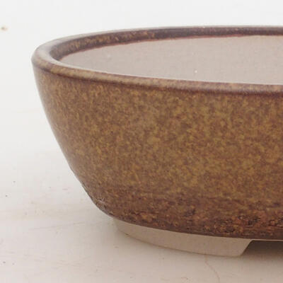 Miska Bonsai 16 x 11 x 5 cm, kolor brązowy - 2