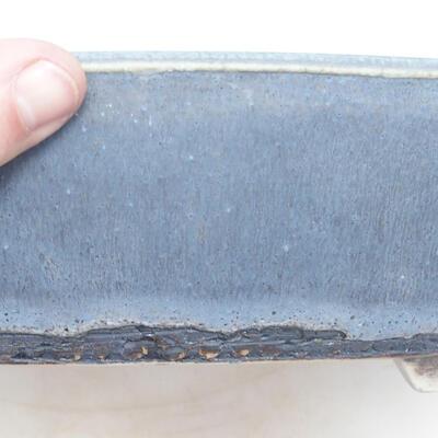 Miska Bonsai 43 x 33,5 x 8,5 cm, kolor niebiesko-szary - 2