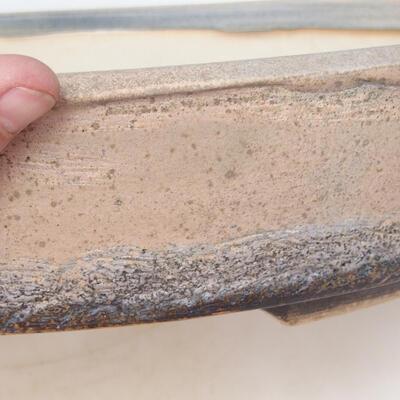 Miska Bonsai 44,5 x 35,5 x 8,5 cm, kolor beżowo-szary - 2