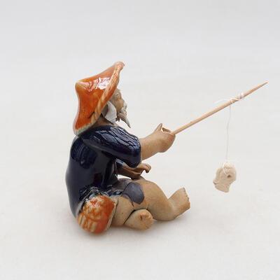 Figurka ceramiczna - Rybak F25 - 2