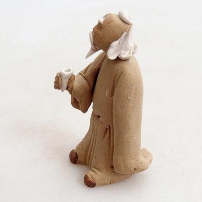 Figurka ceramiczna - Stick figure H27p - 2
