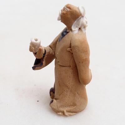 Figurka ceramiczna - Stick figure H28 - 2
