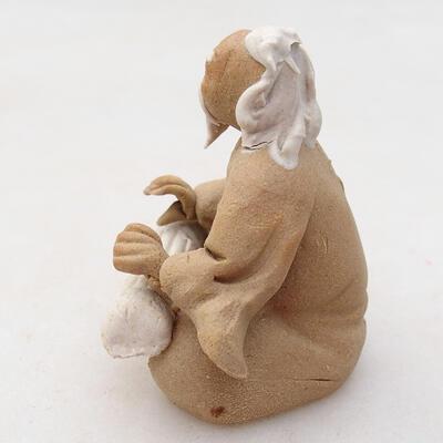 Figurka ceramiczna - Stick figure H32 - 2