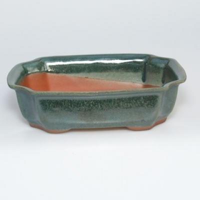 Taca miska Bonsai H03 - 16,5 x 11,5 x 5 cm, taca 16,5 x 11,5 x 1 cm - 2
