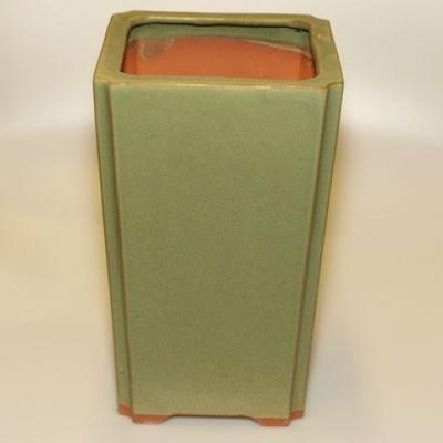 Ceramiczna miska bonsai H 22 - 17,5 x 17,5 x 29 cm - 2