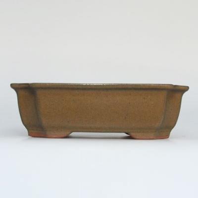 Miska Bonsai + spodek H17 - miska 14,5 x 10,5 x 4,5 cm, spodek 14,5 x 10 x 1 cm - 2