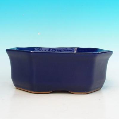 Ceramiczna miska bonsai H 14 - 17,5 x 17,5 x 6,5 cm - 2
