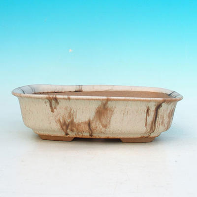 Ceramiczna miska bonsai H 02 - 19 x 13,5 x 5 cm - 2