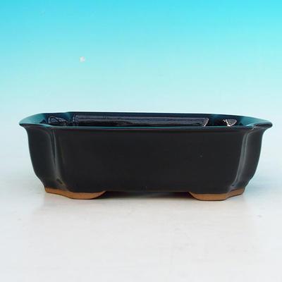Ceramiczna miska bonsai H 03 - 16,5 x 11,5 x 5 cm - 2