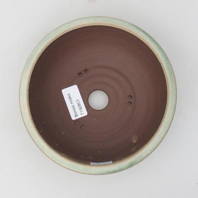 Ceramiczna miska bonsai 16 x 16 x 5,5 cm, kolor zielony - 3