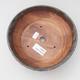 Ceramiczna miska bonsai 17,5 x 17,5 x 5,5 cm, kolor zielono-brązowy - 3/4