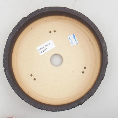 Ceramiczna miska bonsai 19,5 x 19,5 x 7 cm, kolor spękany - 3