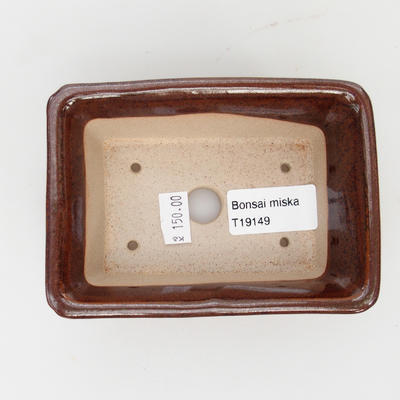 Ceramiczna miska do bonsai - wypalana w piecu gazowym 1240 ° C - 3