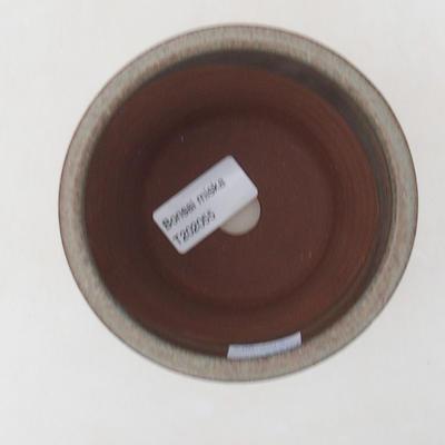 Ceramiczna miska bonsai 10 x 10 x 10 cm, kolor niebieski - 3
