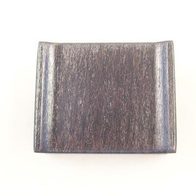 Drewniany stół pod bonsai brązowy 5 x 4 x 2 cm - 3