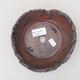 Ceramiczna miska bonsai 14 x 14 x 5 cm, kolor szary - II gatunek - 3/4