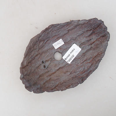 Ceramiczna miska bonsai 16 x 10 x 5,5 cm, kolor szary - II gatunek - 3