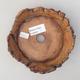 Ceramiczna miska bonsai 13 x 13 x 4 cm, kolor szary - II gatunek - 3/3