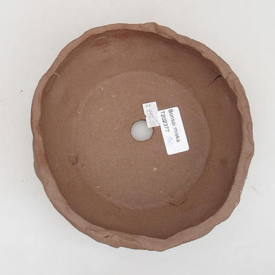 Ceramiczna miska bonsai 16 x 16 x 6 cm, kolor szary - II gatunek - 3
