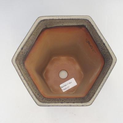 Miska Bonsai 17 x 15 x 20,5 cm, kolor szary - 3