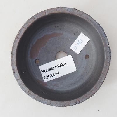 Ceramiczna miska bonsai 9 x 9 x 3,5 cm, kolor spękany - 3