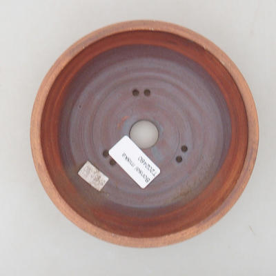 Ceramiczna miska bonsai 15 x 15 x 4,5 cm, kolor spękany - 3