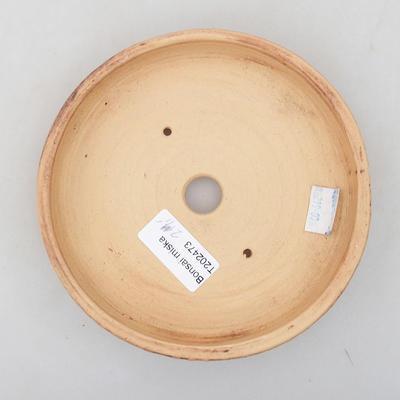 Ceramiczna miska bonsai 14,5 x 14,5 x 3 cm, kolor spękany - 3