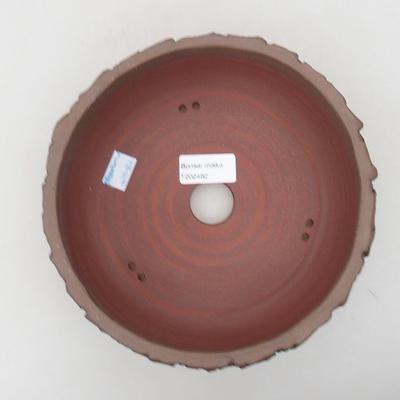 Ceramiczna miska bonsai 19 x 19 x 7 cm, kolor spękany - 3