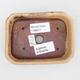 Ceramiczna miska bonsai 2. jakości - 12 x 9 x 3 cm, kolor beżowy - 3/4