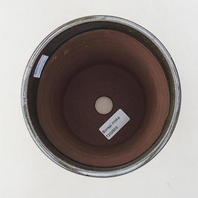 Ceramiczna miska bonsai 14 x 14 x 17,5 cm, kolor zielony - 3