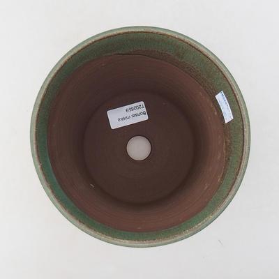 Ceramiczna miska bonsai 15 x 15 x 16 cm, kolor zielony - 3